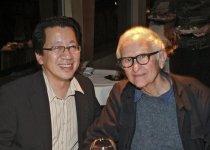 Image of Ben Fong-Torres and Albert Maysles, 2004                                                                                                                                                                                                                       - Image, Digital