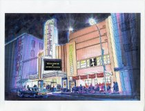 Image of Drawings of the Smith Rafael Film Center, circa 2002 - Mill Valley Film Festival Collection