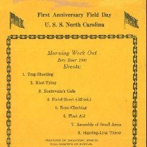 Image of Program - First Anniversary Field Day
