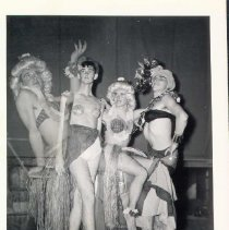Image of Christmas 1943 Drag Show - 1991.033.0078