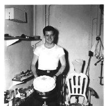 Image of John Corkle Birthday in Sick Bay  - 2001.080.0016