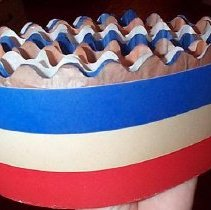 Image of Victory Hat, open