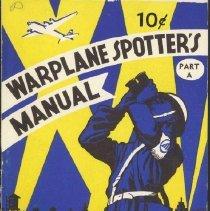 Image of Booklet - Warplane Spotter's Manual