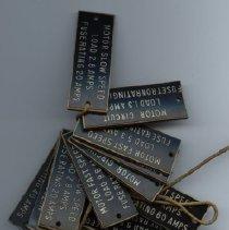 Image of nameplates