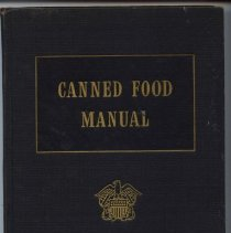 Image of Book - Canned Food Manual