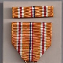 Image of Asiatic Pacific Campaign medal and bar