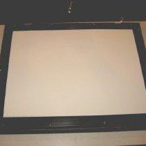Image of Reverse side of framed artwork