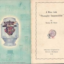 Image of Book - A War Job Thought Impossible