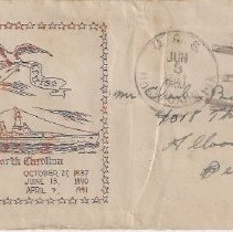Image of USS NC envelope