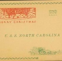 Image of Menu - December 25, 1941