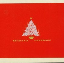 Image of Christmas Card cover