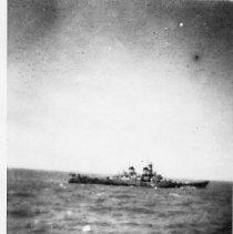 Image of BB55 at sea