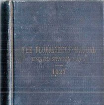 Image of Book - The Bluejackets' Manual 1927