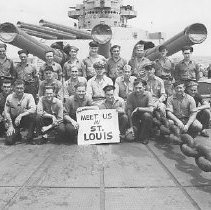 Image of BB55 sailors from St. Louis, Missouri - 1993.001.0011