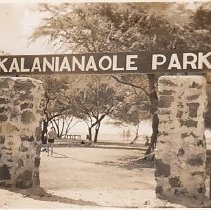 Image of Kalanianaole Park, Hawaii - 2007.042.024