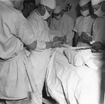 Image of Doctors performing surgery on BB55