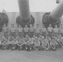"""Image of Black and white photo labeled """"Seamen.""""  Unidentified division."""