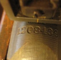 Image of Serial number on carbine