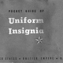 Image of Booklet - Pocket Guide of Uniform Insignia
