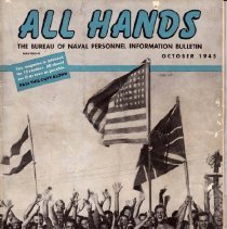 Image of All Hands Magazine, October 1945