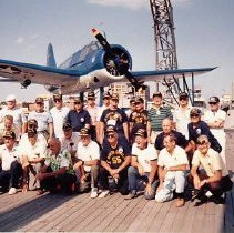 Image of Crew Members Reunion ca. 1985                                                                                   - 1993.042.0135