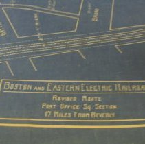 Image of Electric railroad map