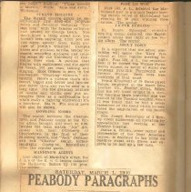 Image of Peabody Paragraph, 3/1/1920