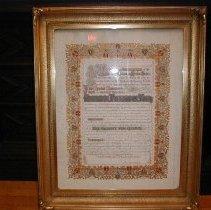 Image of Honorary Freedom Award