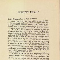 Image of 1923 Trustee's Report