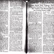 Image of Feb. 8, 1923 Peabody Paragraph
