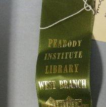 Image of West Branch Dedication Ribbon