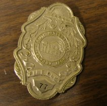 Image of 2008.21.1 - Badge, Law Enforcement