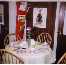 Image of Tea Room - Victorian Woman