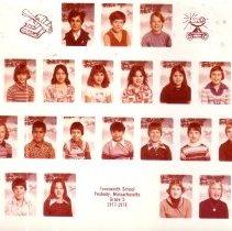 Image of Farnsworth School Grade 5 Class Photo 1977-1978