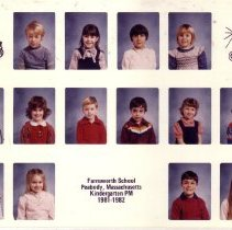 Image of Farnsworth School Kindergarten PM 1981-1982