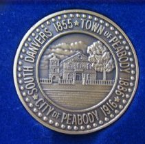 Image of George Peabody Birthday Coin