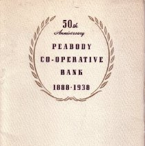 Image of HG 1811 A 1 1938 - A pamphlet on the celebrating the banks history and explains how the bank grew and expaned how it handeld tough times.