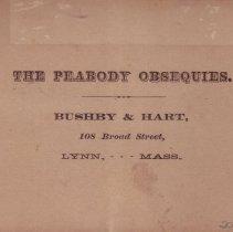 Image of Back of Lyceum card.