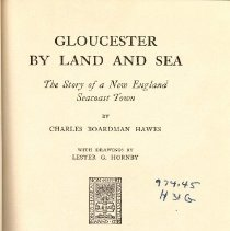 Image of F 74 G5 H4 - Stories of Gloucester from its beginning.