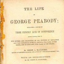 Image of HV 28 P4 H2 1870 c.1 - Life of George Peabody