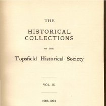 Image of F 74 T6 T6 Volume 9 - Proceedings for the Society for the year 1903 and 1904.