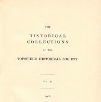 Image of F 74 T6 T6 Volume 11 - Proceedings for the Society for the year 1906.
