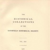 Image of F 74 T6 T6 Volume 13 - Proceedings for the Society for the year 1908.