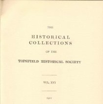 Image of F 74 T6 T6 Volume 16 - Proceedings for the Society for the year 1911.