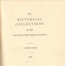 Image of F 74 T6 T6 Volume 28 - Proceedings for the Society for the year 1923.