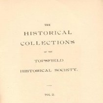 Image of F 74 T6 T6 Volume 2 - Proceedings for the Society for the year 1896.