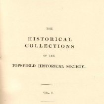 Image of F 74 T6 T6 Volume 5 - Proceedings for the Society for the year 1899.