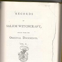 Image of BF 1575 R3 - Original records of the The Court of Oyer and Terminer from the Salem Witch Trials of 1692