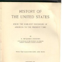 Image of E 178 A57 1926 Vol. 3 - History of the United States from 1814-1861.