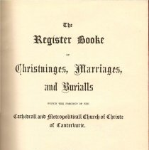Image of CS 434 H3 Vol. 2 - Registers for births, weddings and deaths in the Church of Christ from 1564 to 1874.